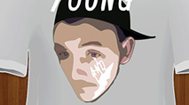 Young And Living T-Shirt Design